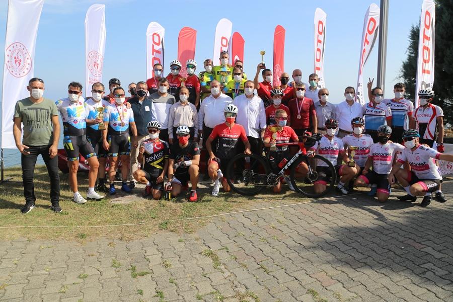 Ordu'da Türkiye Yol Bisikleti Şampiyonası sona erdi