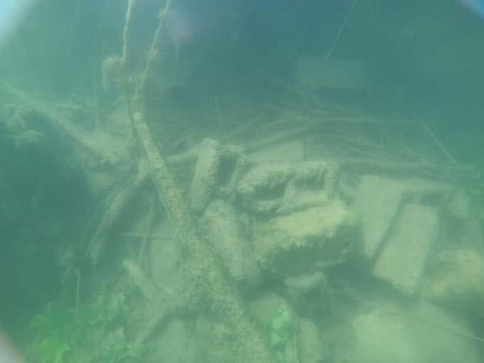 Ordu'da gölde kilise kalıntısı ortaya çıktı