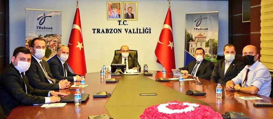 Trabzon'da Şinik OSB Yönetim Kurulu Toplantısı yapıldı