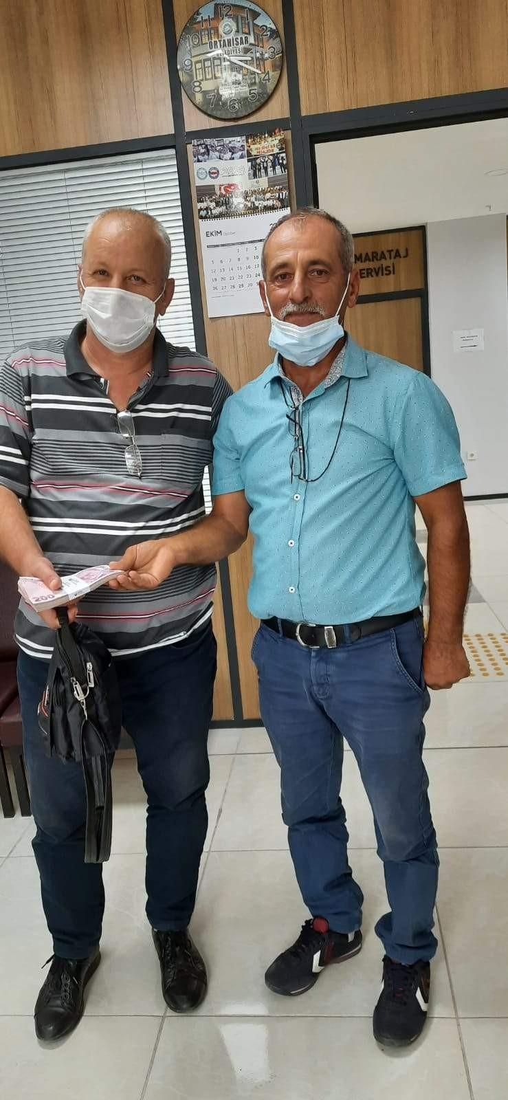 Trabzon'da insanlık ölmemiş dedirten olay! 20 Bin TL'yi sahibine teslim etti