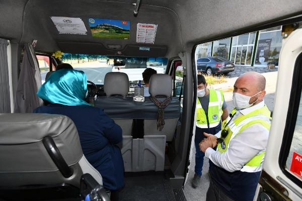 Trabzon Büyükşehir'den trafik denetimi