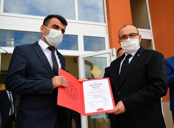Trabzon'da okulum temiz sertifika töreni düzenlendi
