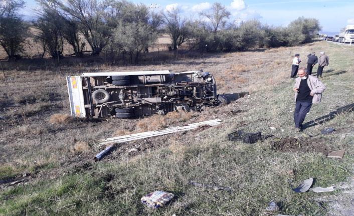 Sandıklı'da trafik kazası