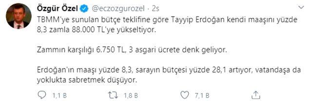 Cumhurbaşkanı Erdoğan'ın maaşına zam yapıldı! İşte alacağı ücret