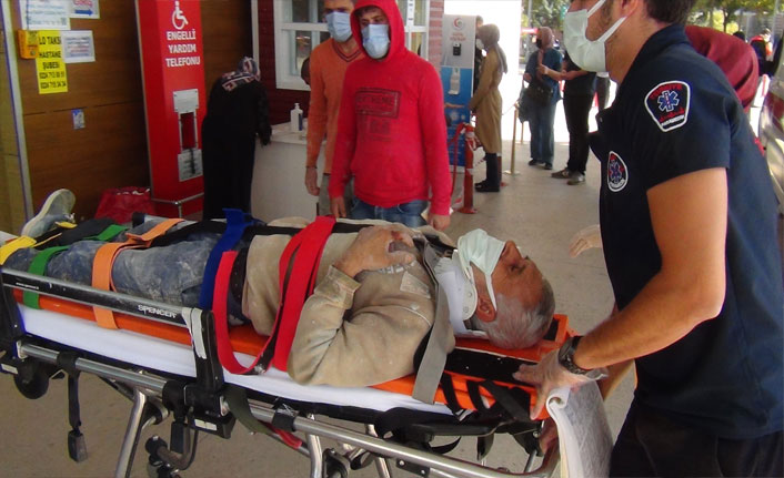 İskeleden düşen işçi ağır yaralandı