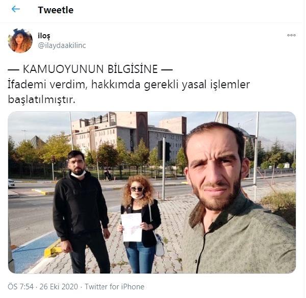 Skandal Trabzon paylaşımı sonrası İlayda Kılıç ifade verdi