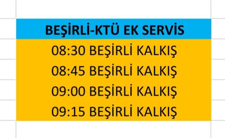 Trabzon'da KPSS düzenlemesi