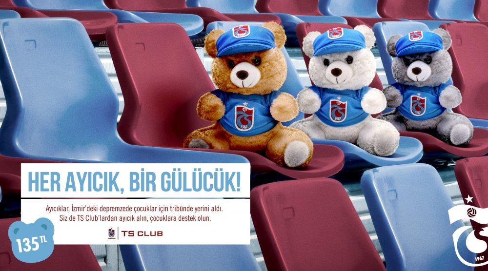 Trabzonspor'dan İzmir'e anlamlı destek