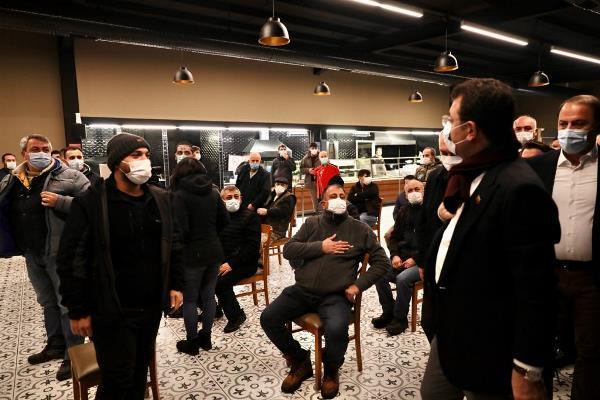 """Başkan İmamoğlu: """"Dün İstanbul'daki vefat sayısı, 186. Susayım mı? Yutkunayım mı?"""""""