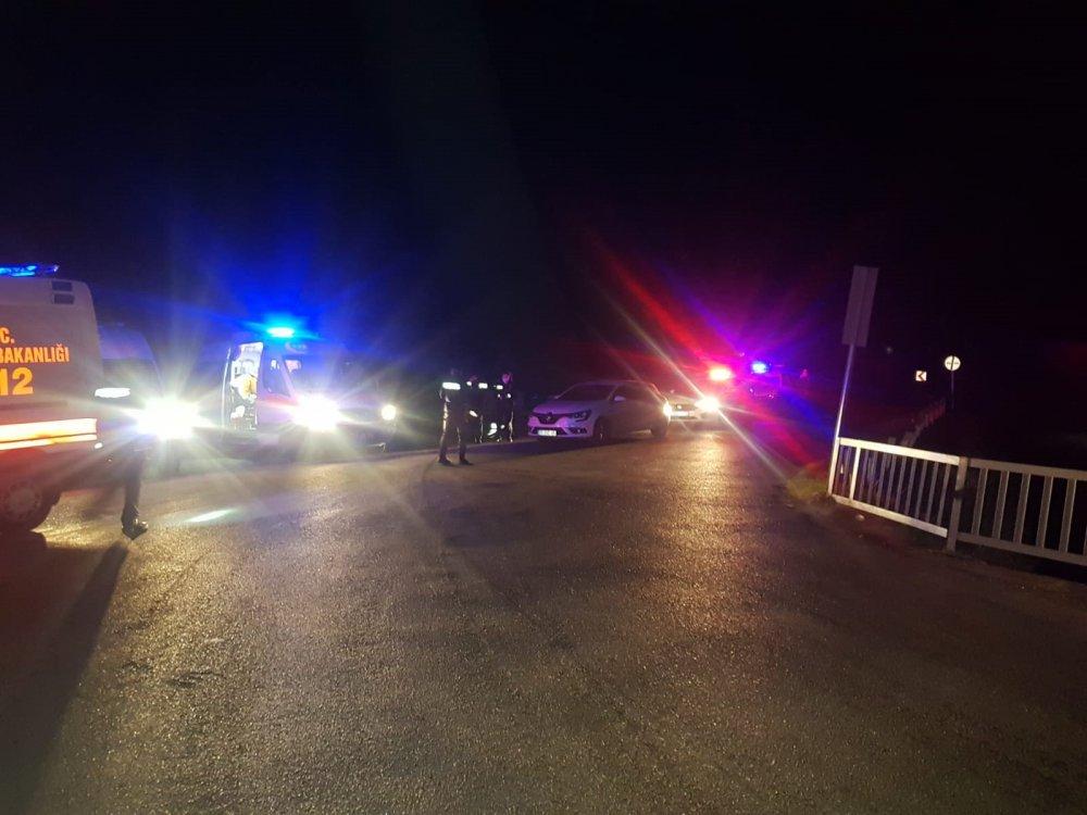 Polis midibüsü şarampole devrildi: 1 şehit, 4 yaralı