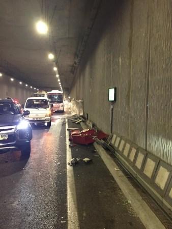 Trabzon'da kaza! Araç hurdaya döndü