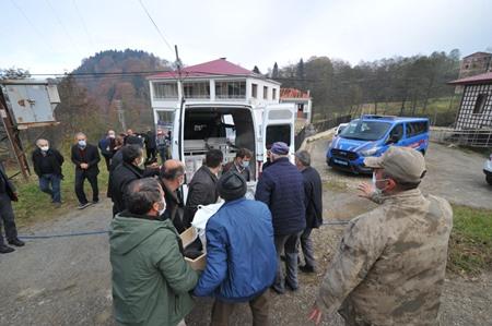 Trabzon'da acı olay! Yaşlı adam hayatını kaybetti