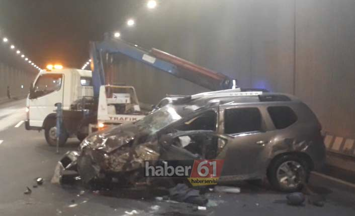 Trabzon'da kaza: 1 Yaralı