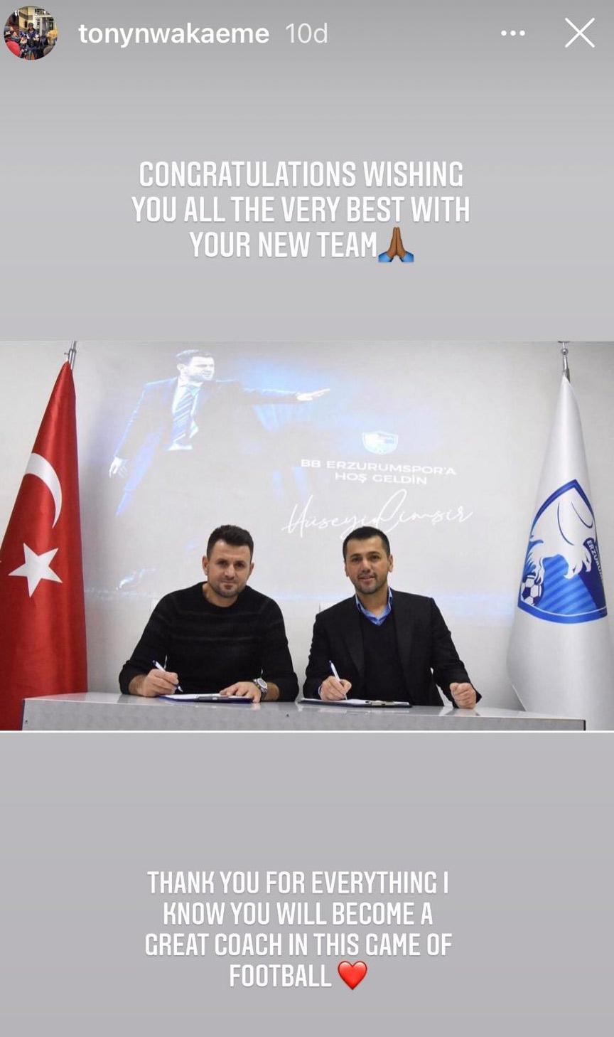 Hüseyin Çimşir imzayı attı, Trabzonspor'un yıldızı tebrik etti