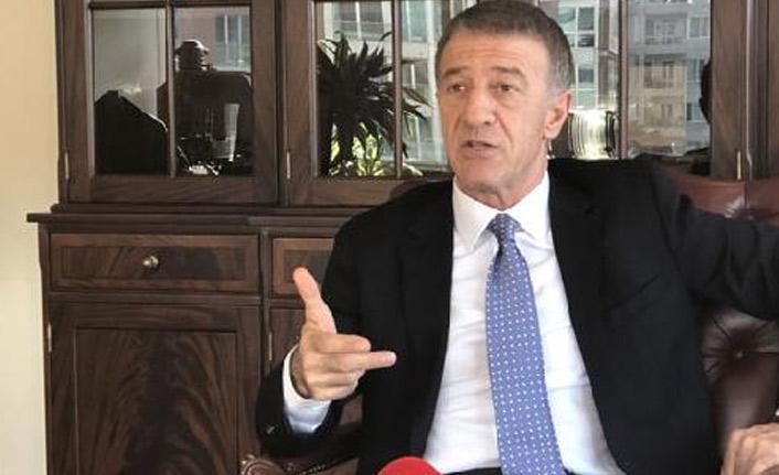 Trabzonspor Kulübü Başkanı Ahmet Ağaoğlu