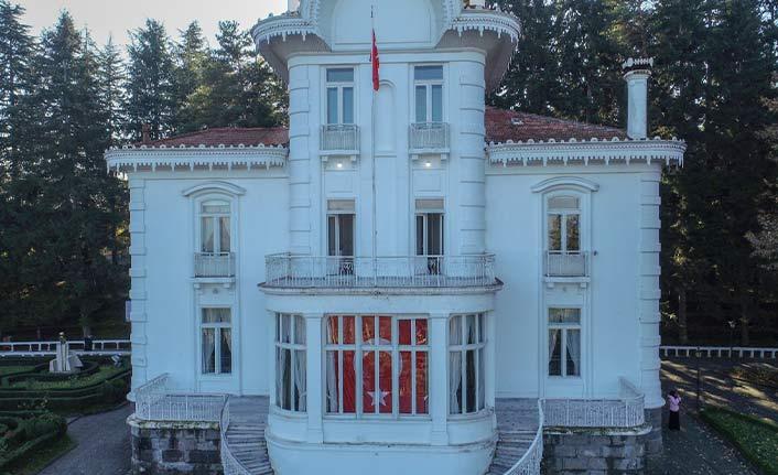 Atatürk Köşkü ilgi odağı