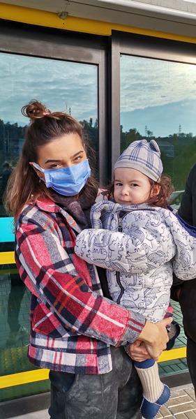SMA hastası Demir Ali'nin ABD yolculuğu başladı