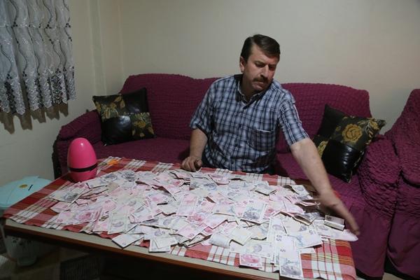Ordu'da sigarayı bırakarak 3 yılda 10 bin lirayı aşkın para biriktirdi