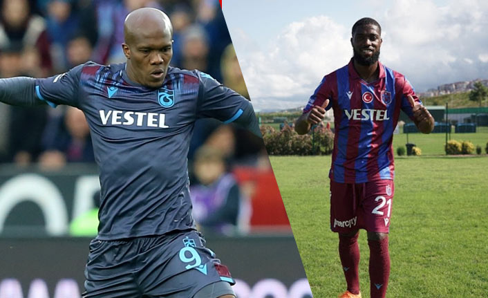 Trabzonspor'a Nwakaeme ve Djaniny şoku