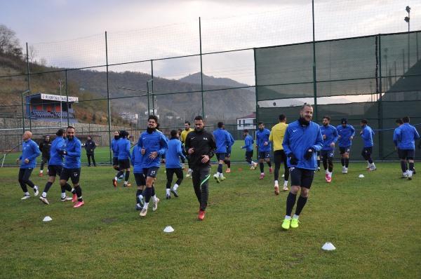 Hekimoğlu Trabzon Afyon maçına hazırlanıyor