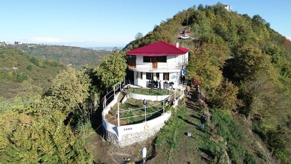 Trabzon'da taka gibi kütüphane mimarisiyle ilgili çekiyor
