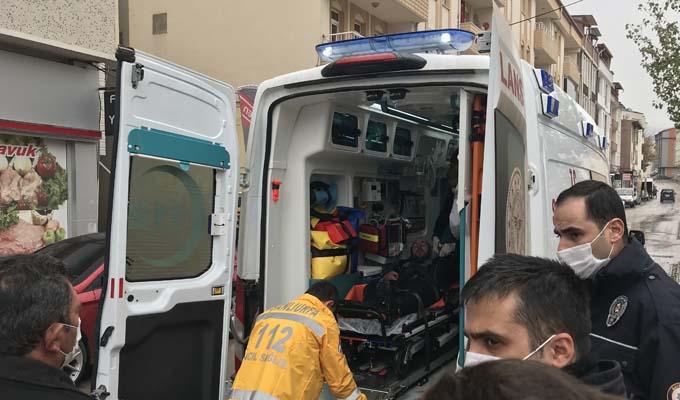 Bayburt'da vatandaş köprüden düştü! İtfaiye seferber oldu
