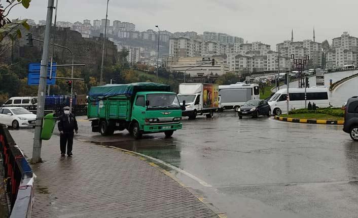 Trabzon'da trafik