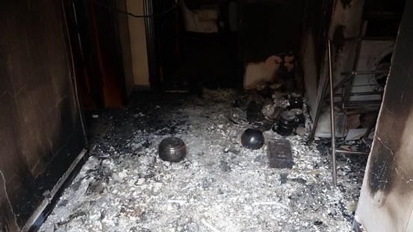 Rize'de 10 evin kullanılamaz hale geldiği yangının çıkış nedeni belli oldu
