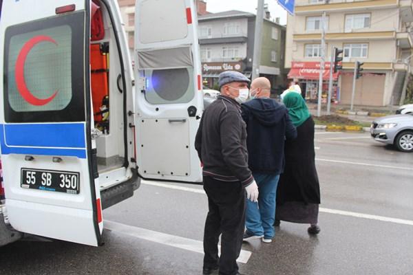 Trabzon plakalı araç kaza yaptı: 1 Yaralı