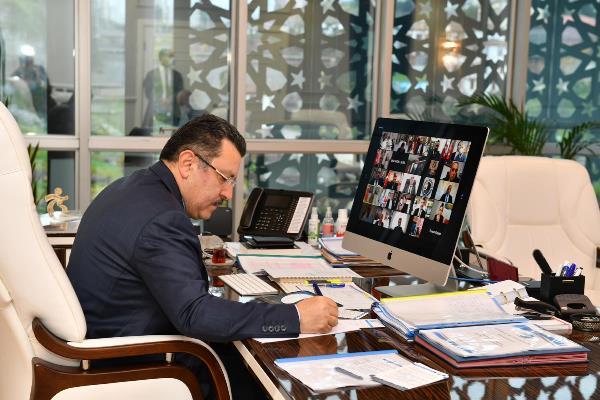 """Başkan Genç: """"KKTC belediyeleriyle güçlü işbirliği Doğu Akdeniz politikasına katkı yapar"""""""