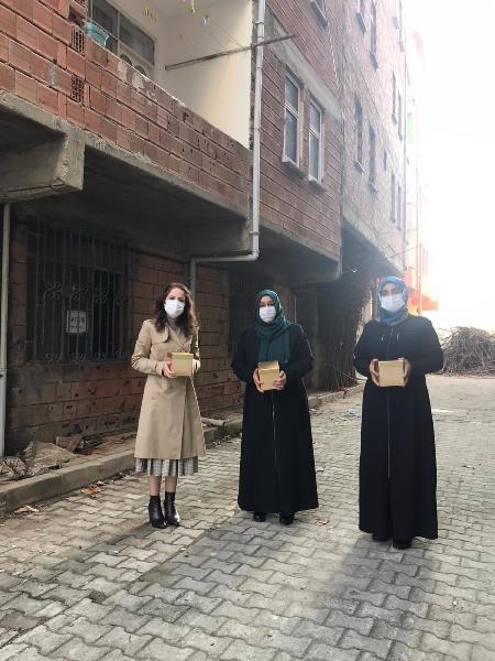 Trabzon'da AK Kadınlardan Anne Keki etkinliği