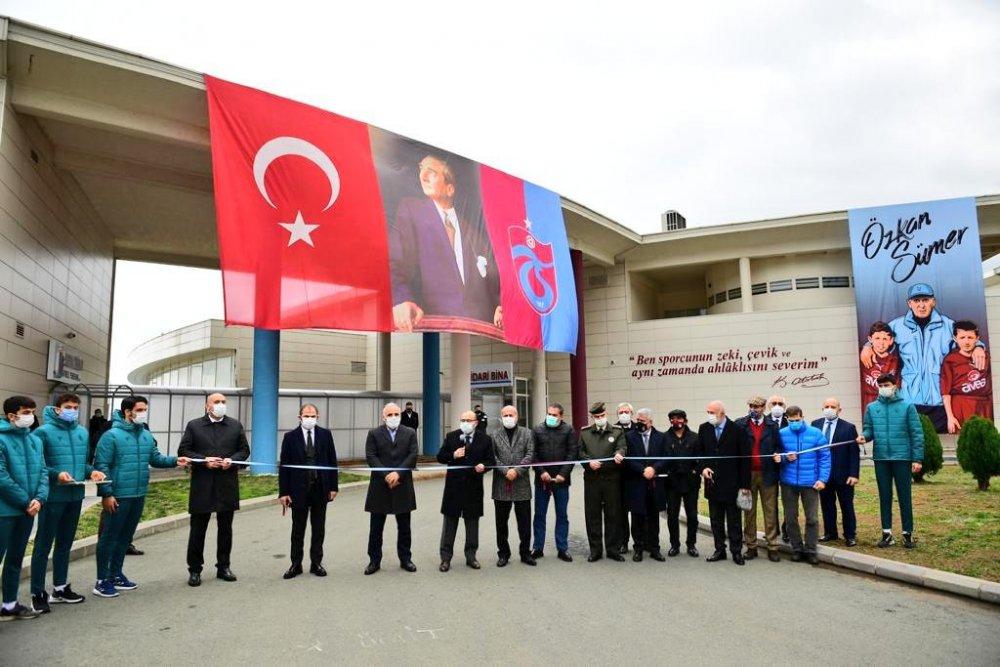 Özkan Sümer Futbol Akademisi açıldı
