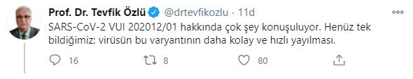 """KTÜ'lü Bilim Kurulu Üyesi Prof. Dr. Özlü'den mutasyon açıklaması! """"Henüz tek bildiğimiz…"""""""