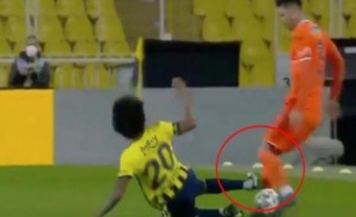 Fenerbahçe Başakşehir maçında inanılmaz karar