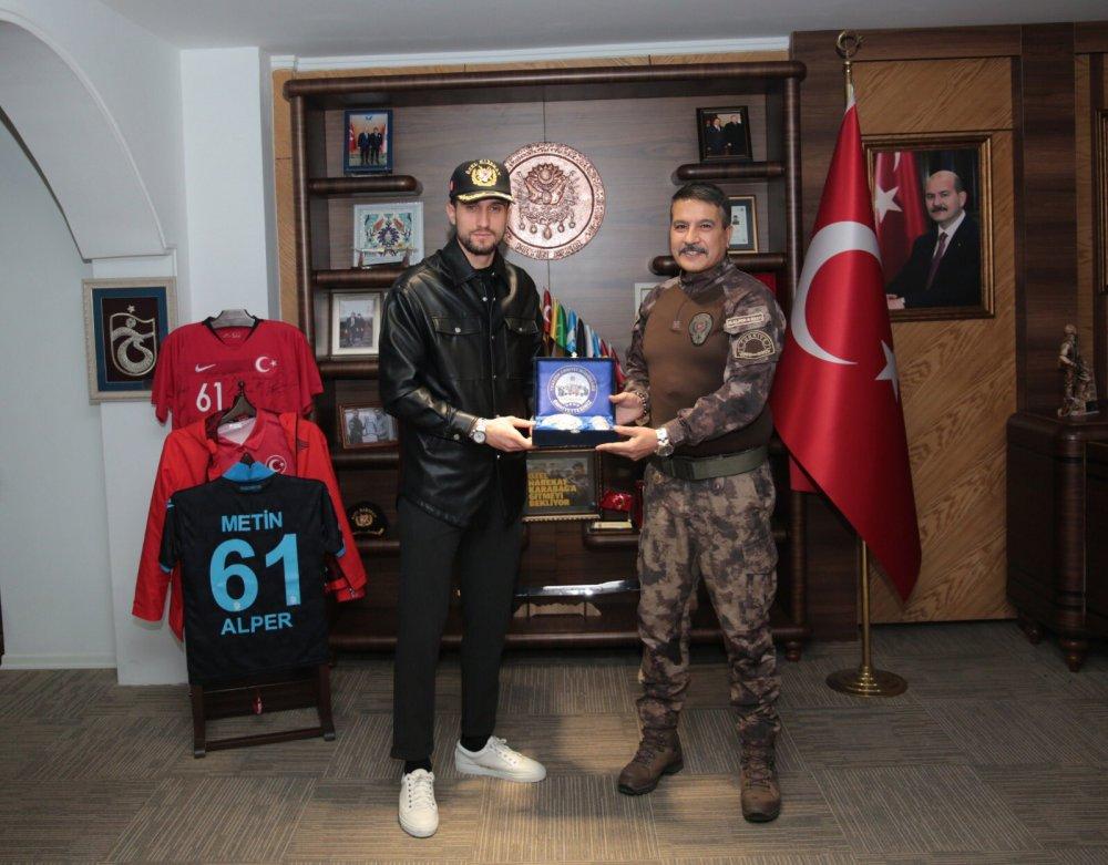 Yusuf Yazıcı'dan Trabzon Emniyetine ziyaret