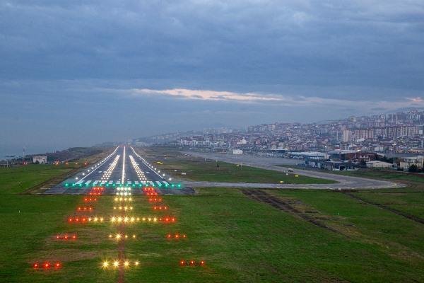 Trabzon Havalimanında işlem tamam! 24 saat hizmet vermeye hazır