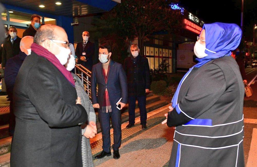 Bakan Selçuk Trabzon'da