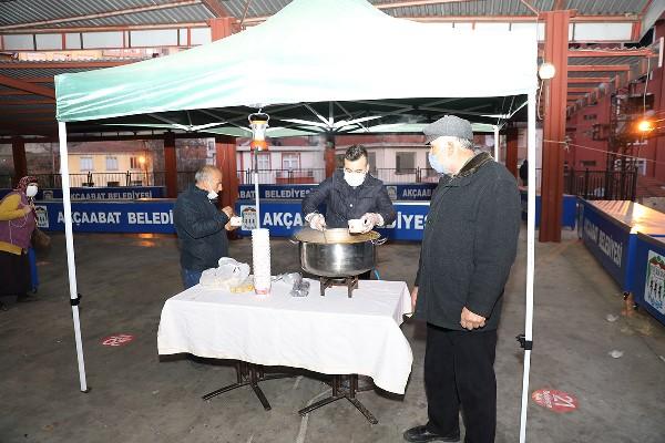 Akçaabat Belediyesi'nden gönül çorbası