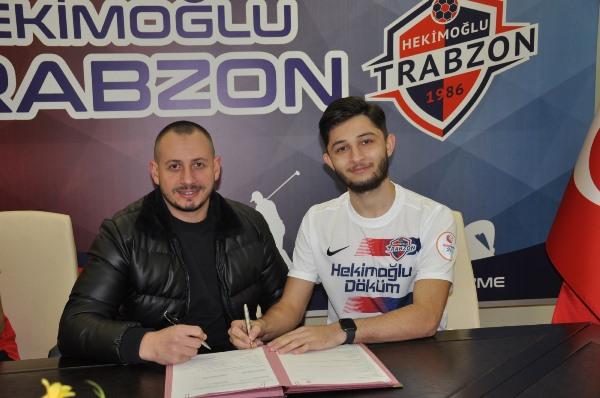 Trabzonspor'dan Hekimoğlu Trabzon'a imzayı attılar