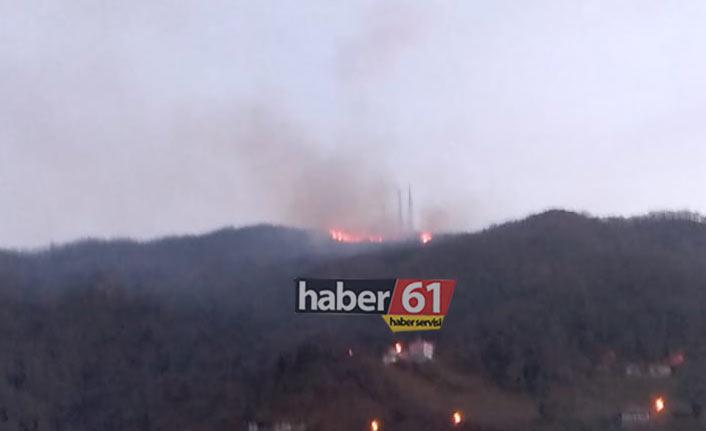 Trabzon yangın