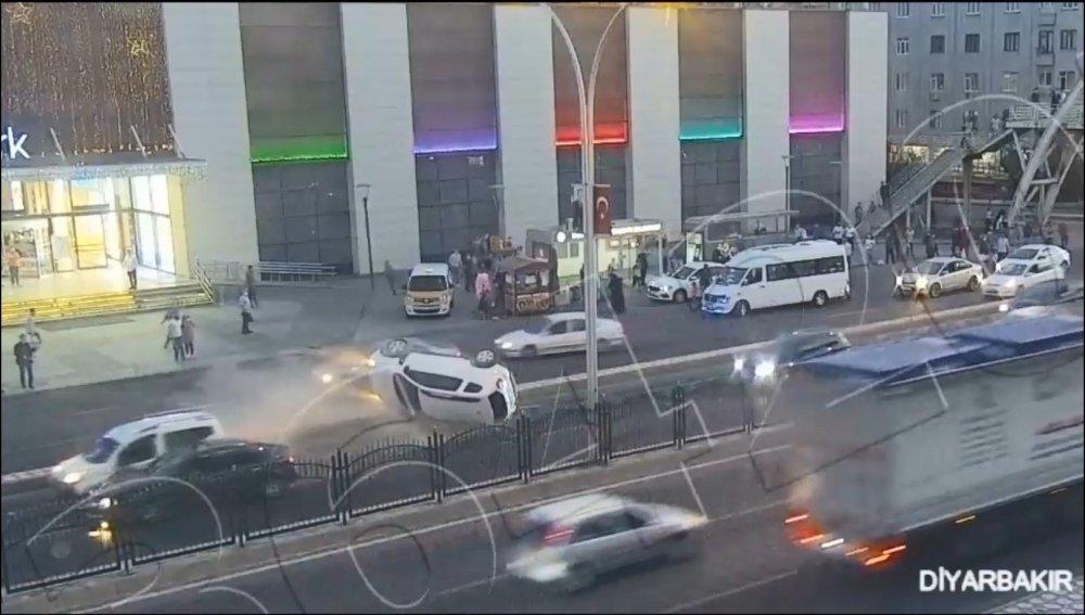 EGM kaza görüntülerini paylaştı! Trabzon da var