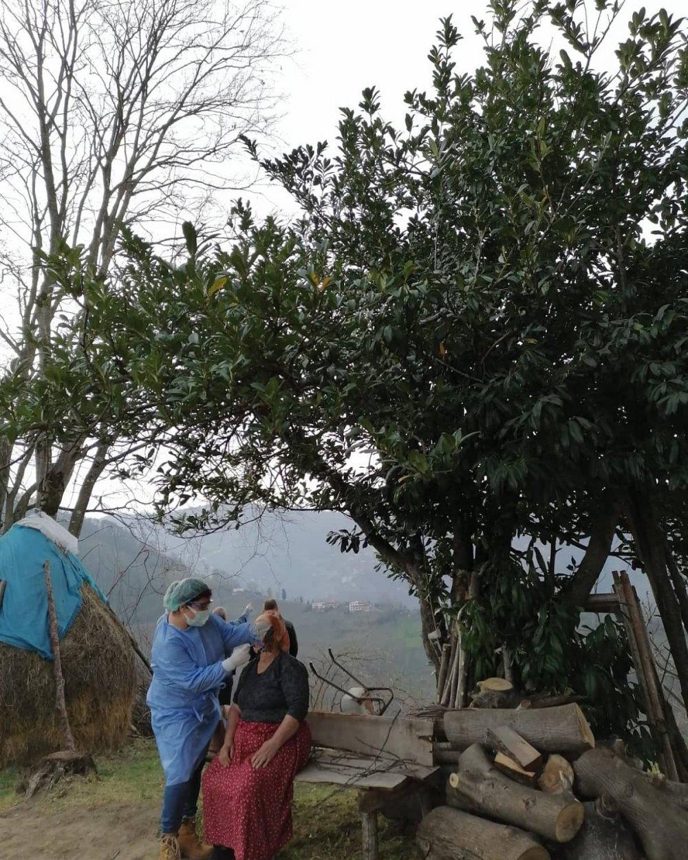 Trabzon'da koronavirüs tarama çalışması tamamlandı