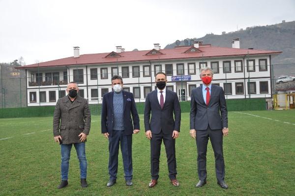 Başsavcı Hüseyin Tuncel'den Hekimoğlu Trabzon'a ziyaret