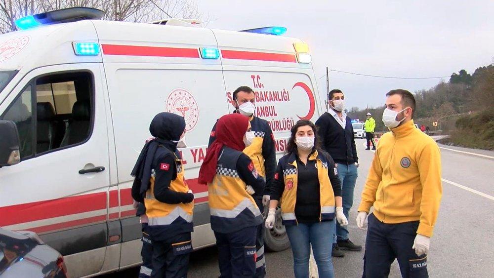 İstanbul'da helikopter düştü iddiası