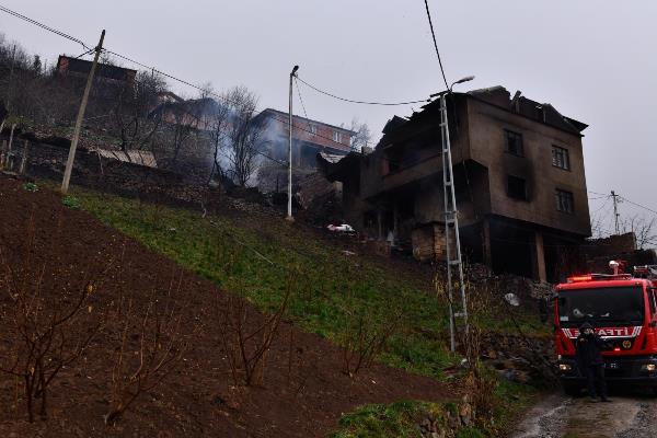 Muhammet Balta'dan Araklı'da yangın bölgesine ziyaret