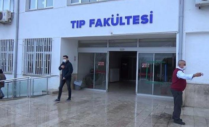 Trabzon'da intörn doktorlar da aşılanıyor