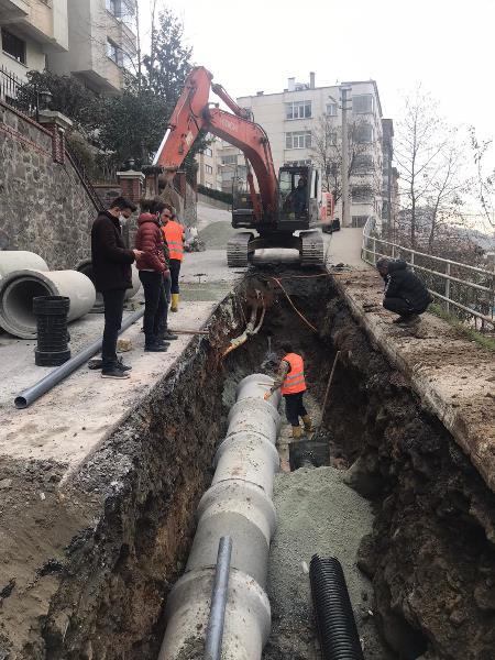 Trabzon'da 2020'de 354 KM içme suyu hattı