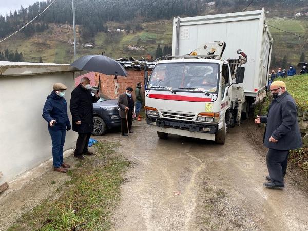Bakan Soylu talimat vermişti! Konteynerler Trabzon'da yangın bölgesine ulaştı