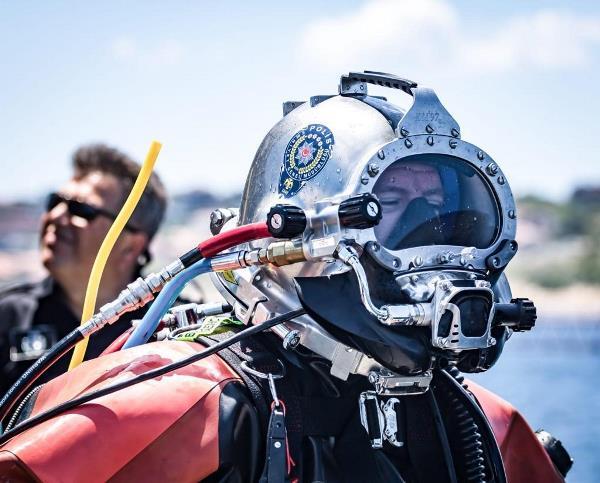 Trabzon denizine özel ekip