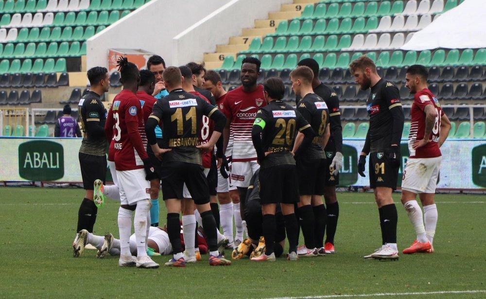 Denizlispor Hatayspor'a mağlup oldu